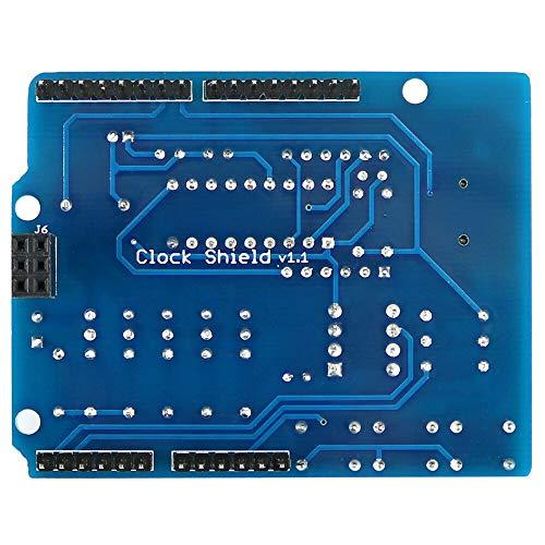 Alto rendimiento Tarjeta de Expansión Reloj de la RTC DS1307 Módulo multifunción con sensor de luz 4 dígitos Display y termistor OPEN-SMART for A-r-d-u-i-n-o - Los productos que funcionan con el ofici