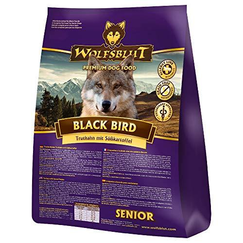 Wolfsblut | Black Bird Senior | 15 kg | Truthahn | Trockenfutter | Hundefutter | Getreidefrei