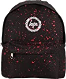 Hype <span class='highlight'>Backpack</span> Bags Rucksack | School Bag | Black Red Speckle