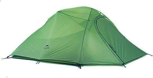Naturehike Cloud-up Ultra légère 3 personnes étanche Tente double couche Tente de camping randonnée