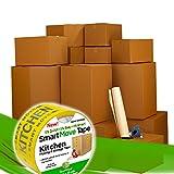 Smart Moving Box Kit #10-126 Bigger Moving Boxes, Bubble & More