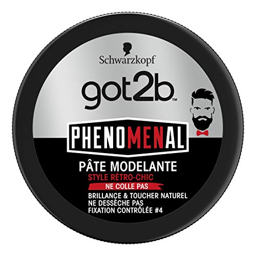 Schwarzkopf - Got2b - PhenoMENal - Pâte Modelante Cheveux - Pot 100 ml