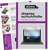 dipos I 2X Schutzfolie klar kompatibel mit HP 250 G6 15.6 Zoll Folie Bildschirmschutzfolie
