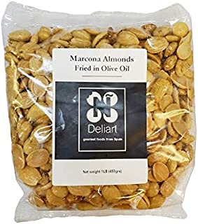 Deliart Spanish Marcona Almonds Fried in Olive Oil - 1 lb