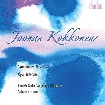Kokkonen, J.: Symphonies Nos. 1 and 2 / Opus Sonorum