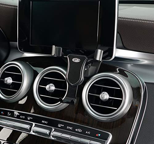 Beerte Soporte para teléfono de coche para Mercedes Benz GLC 2016-2019, soporte de montaje para teléfono de coche, apto para teléfono móvil con cubierta de clip de ventilación de aire (aleación)