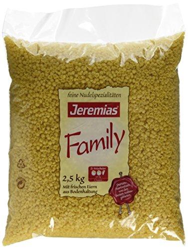 Jeremias Suppen-Muscheln, Family Frischei-Nudeln, 1er Pack (1 x 2.5 kg Beutel)