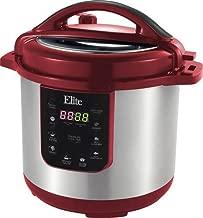 Elite Platinum ePC-813C Maxi-Matic 8 Quart Electric Pressure Cooker, Cinnamon (Stainless Steel)
