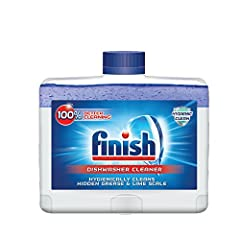 Delivers a cleaner dishwasher Fights odor and leaves behind a clean, fresh scent Recommended once a month or as soon as you notice build-up in your dishwasher Finish quality product Breaks down and removes lime scale and grease build-up inside your d...