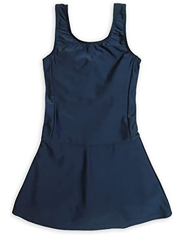 87fdf2feb123d ASHBERRY (アッシュベリー) キッズスクール水着 女の子用スカート&スパッツ型  UPF50+