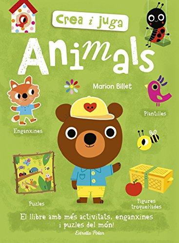 Crea i juga. Animals (Llibres d'activitats)