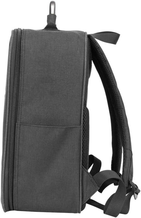 dSNAPoutof Drone Backpack for MJX Bugs Waterproof 5W Portable Zipper Handle Waterproof Drone Storage Bag Backpack with Handle Black