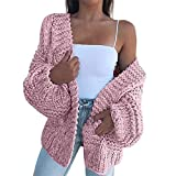 Xiaolian Solid Color Knitted Comfy Sweater Cardigan Casual Warm Fashion Coat for Women