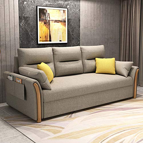 FYHpet Multifunktionales Klappsofa, 2-in-1-Sofa, Wohnzimmer für Büro Modern...