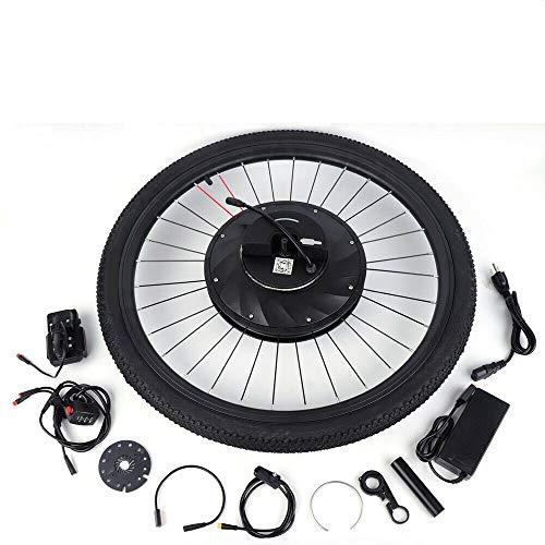 OUKANING 36V 240W Kit Bici elettrica da 26 Pollici Kit di conversione Bici elettrica E-Bike Ruota Anteriore