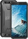Blackview BV5500 Plus SIMフリー スマホ 本体 防水 防塵 IP68 4G スマートフォン Android 10.0 4G 格安 携帯電話 ブラック