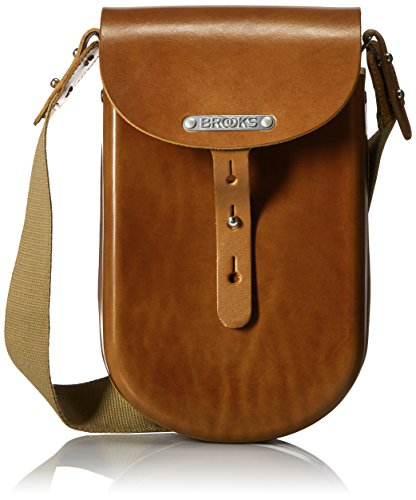 Brooks England B2geformte Leder Tasche, B200A07203, Honig, M