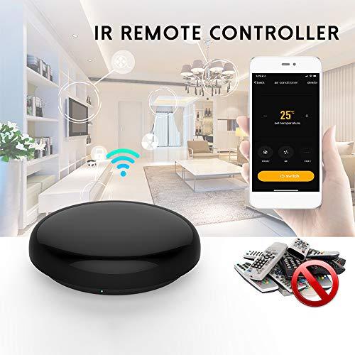 docooler Telecomando IR Smart, Hub Smart Home WiFi con Controllo Vocale Intelligente a Infrarossi Universale Smart Life App Control One for all Control TV Dvd AUD Compatibile con Alexa Google Home