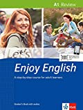 Let's Enjoy English A1 Review: A step-by-Step course for adult learners. Student's Book + MP3-CD (Let's Enjoy English / A step-by-step course for adult learners) -