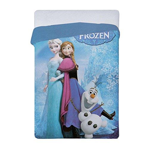 Aymax Spro - Copripiumino Motivo Disney Frozen, Unica, 180 x 260 cm, Multicolore