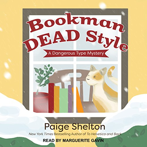 Bookman Dead Style audiobook cover art