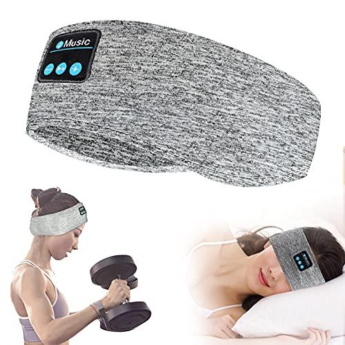 ACCOF Auriculares para Dormir,Banda Bluetooth 5.0 Deportes Diadema con Ultrafinos HD...