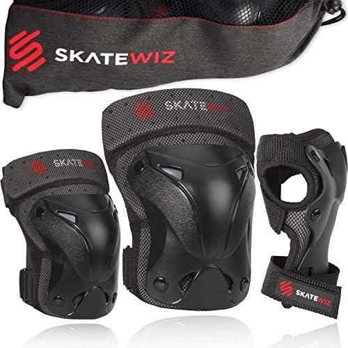 SKATEWIZ Elbow Pads Skate Pads Wrist Guards Knee pad Skateboarding Accessories Skate Guards product image