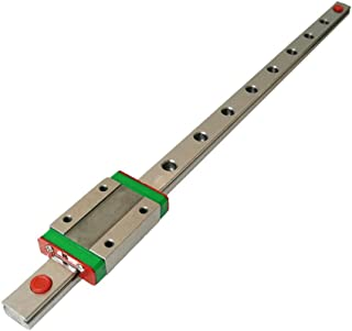 Iverntech MGN12 400mm Linear Rail Guide with MGN12H Carriage Block for 3D Printer and CNC Machine