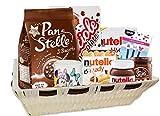 ipt Idea Regalo  La Colazione più Amata  con dolciumi Nutella Tazza e Gadget Personaggio a Scelta (Minnie)