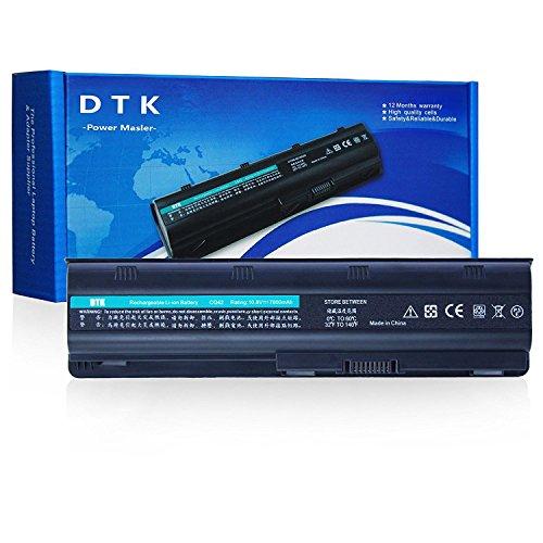 Dtk Batería de Repuesto para Portátil Hp G32 G42 G62 G4 G6 G7 ; Compaq Presario Cq32 Cq42 Cq43 Cq430 Cq56 Cq62 Cq72 ; Hp Pavilion Dm4 ;Fits Mu06 593553-001 593554 Mu09 [10.8v 6600mah 9-cell]