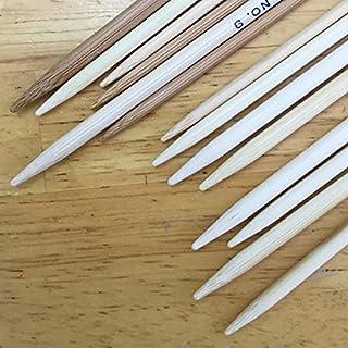 日本製 竹 編み針 4本針 30cm 短 4~12号( 4号 5号 6号 7号 8号 9号 10号 12号)竹製 棒針 編針 靴下 小物 日本製 編みやすい (9号(4本針30cm))