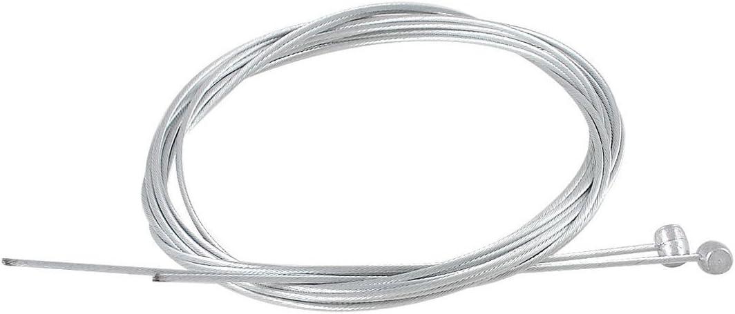 SODIAL(R) Acero 1.7 Metros Universal Alambre cable de freno trasero para bicicleta 2pzs