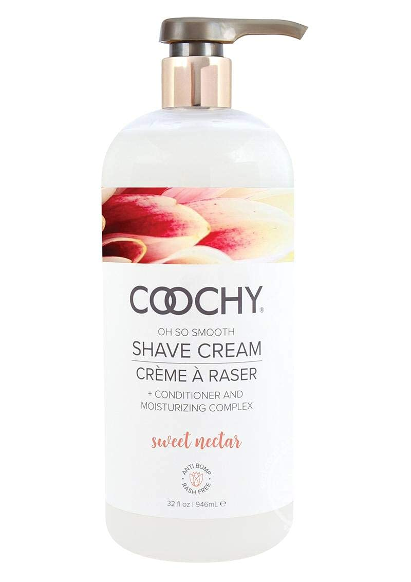 Coochy Oh So quality assurance Smooth Shave Cream - 32 Oz Nectar Award-winning store Sweet Fl