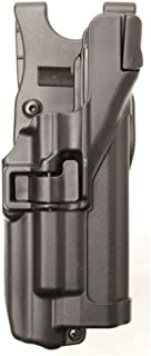 BLACKHAWK! SERPA Level 3 Light Bearing Duty Holster - Matte Finish