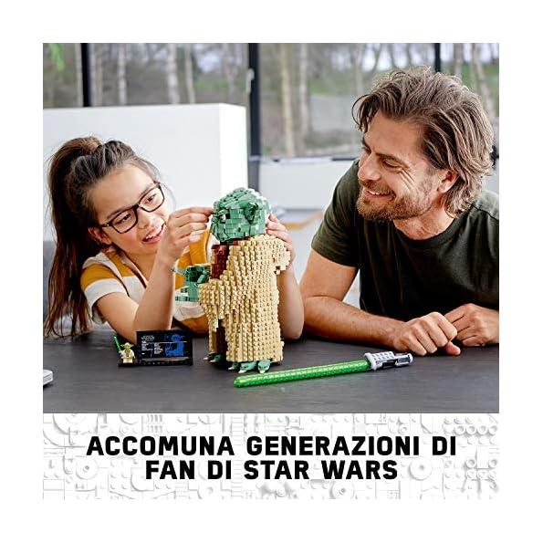 Lego-Star-Wars-Yoda-Set-di-Costruzioni-per-Collezionisti-e-Bambini-10-Anni-75255