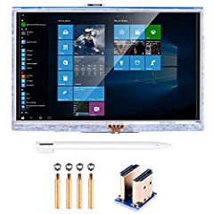 5 inch resistive touch screen designed for Raspberry Pi 3 2 Model B RPi 1 B B+ A A+, can't work for Raspberry Pi Zero board. The screen also can work with all standard HDMI device, but the touch function is just for Raspbian and Ubuntu systems. This ...