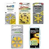 Testpaket-Batterien Hörgeräte 10