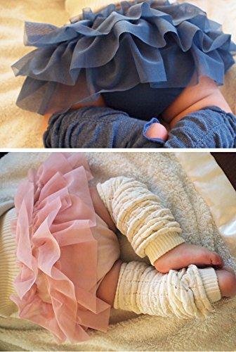 『プラチナムベイビー LITTLE ONE ベビー 出産祝い(モーヴピンクLWセット)ギフトBOX2【レッグウォーマー&チュールブルマSET】』の2枚目の画像