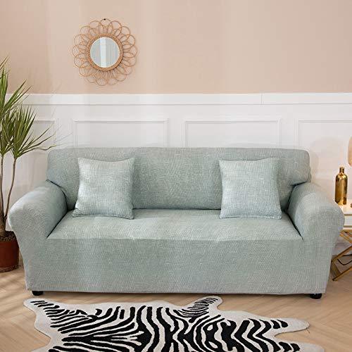 PPMP Fundas de sofá elásticas Antideslizantes para Sala de Estar Funda de sofá seccional de Esquina en Forma de L Funda de sillón A20 3 plazas