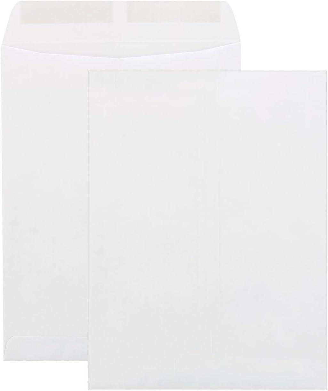 9 X 12-inch Catalog Sale price White Pack Max 63% OFF - Envelopes 50 Per