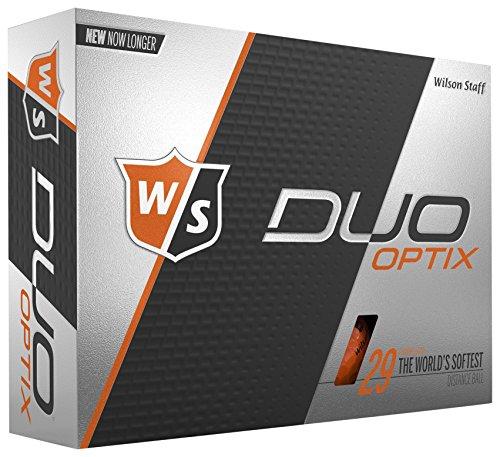 WILSON Staff Duo Soft, Herren, Duo Soft Optix - Orange, Orange, Large