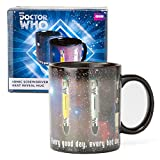Doctor Who Mug - Sonic Screwdriver Coffee Cup - Design Changes with Heat - 12 oz by Underground Toys