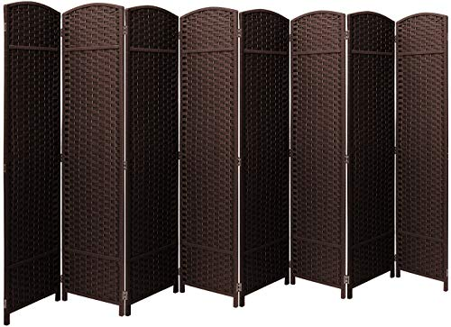 Sorbus Room Divider Privacy Screen, 6 ft. Tall Extra Wide Foldable Panel Partition