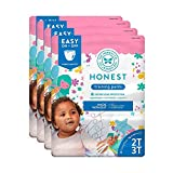 The Honest Company Toddler Training Pants | Fairies | 2T/3T | 104 Count | Eco-Friendly | Underwear-Like Fit | Stretchy Waistband & Tearaway Sides | Perfect for Potty Training