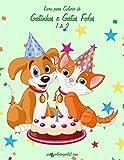 Livro para Colorir de Gatinhos e Gatos Fofos 1 & 2
