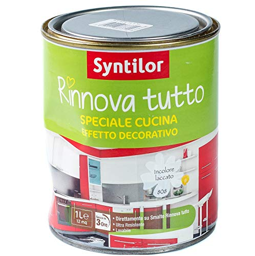 Syntilor Smalto RINNOVA Tutto - 1 L Effetto Deco Speciale Cucina Laccato
