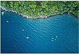Kayak y remos se secan en el muelle Canoe Lake Rompecabezas de 500 piezas para adultos Juguete educativo para adultos Niños Juego de rompecabezas grande Juguetes Regalo-PUZZLE5