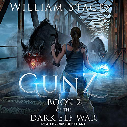 Gunz     Dark Elf War Series, Book 2              By:                                                                                                                                 William Stacey                               Narrated by:                                                                                                                                 Cris Dukehart                      Length: 15 hrs and 51 mins     11 ratings     Overall 4.2