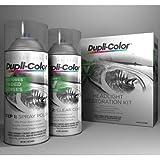 Dupli-Color HLR100 Headlight Restore Restoration and UV Coating Spray Kit