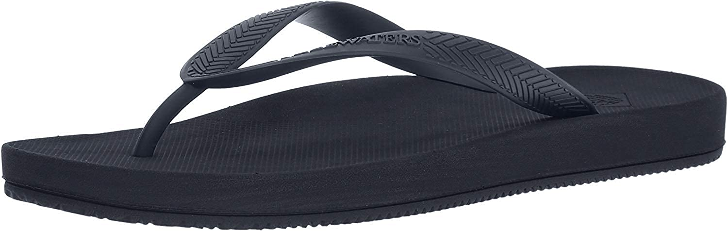 Freewaters Men's Archie Lightweight Vegan Water-Friendly Zori Flip Flop Sandal with Arch Support Geta